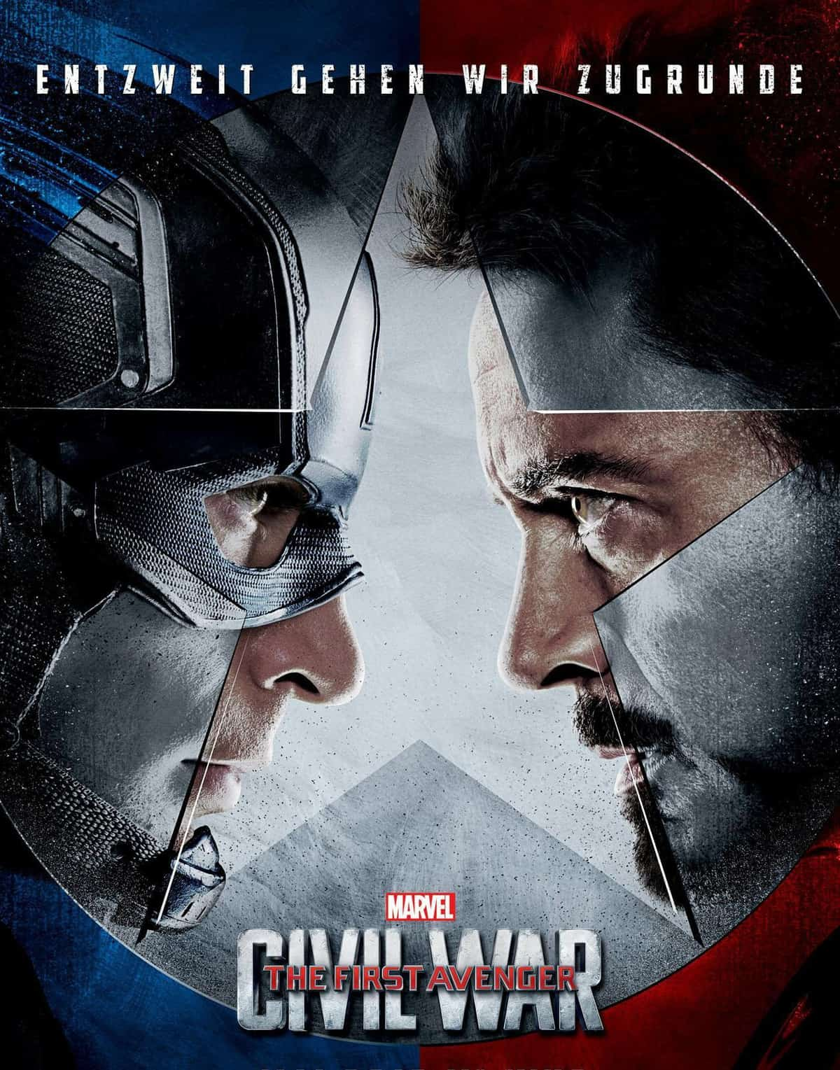 Captain America 3 - Civil War: ab April 2016 im Kino