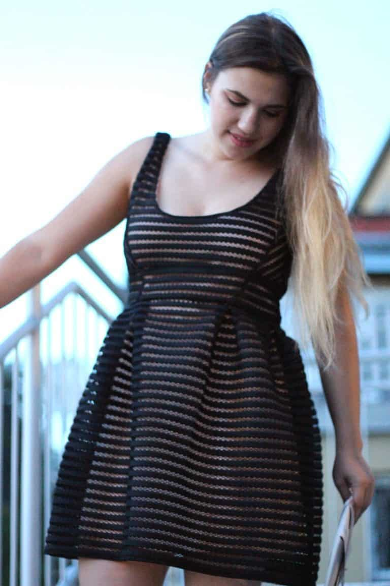 When you find your perfect black dress