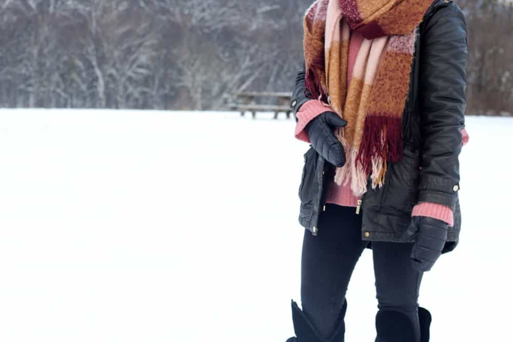 Outfitinspiration für snowy days