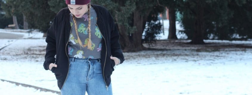 Outfit: Streetstyle and my little pony