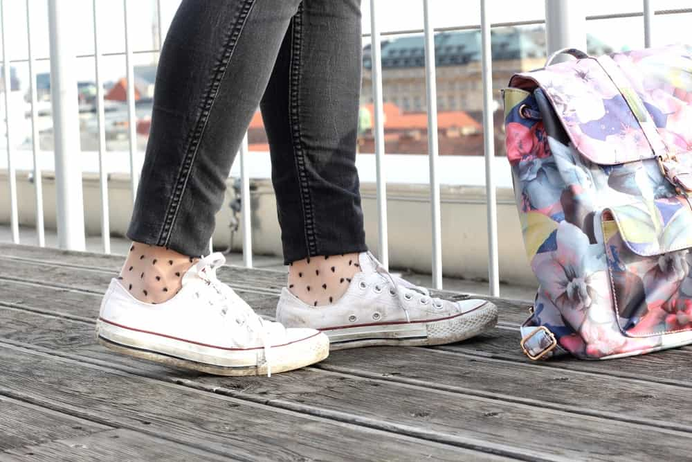Shoes: Converse and cute Socks