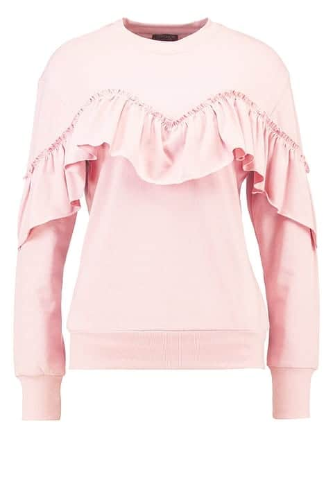 Baby-Rosa Pullover