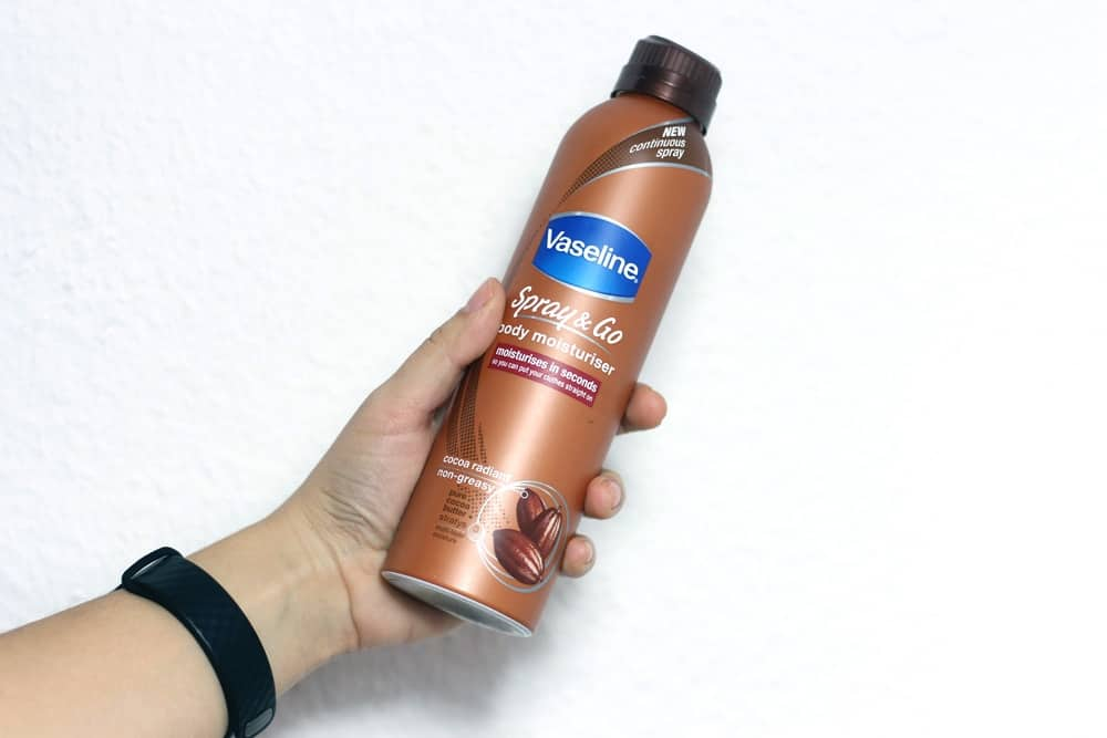 Bodylotion Spray & Go von Vaseline