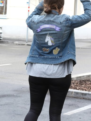 Fashiontrend: Denim with Patches