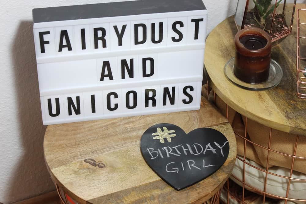 Mottoparty: Fairydust and Unicorns
