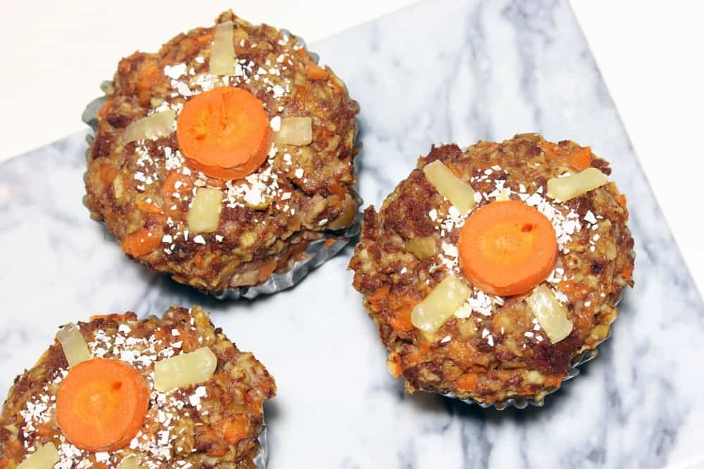 Recipe: muffins for dogs