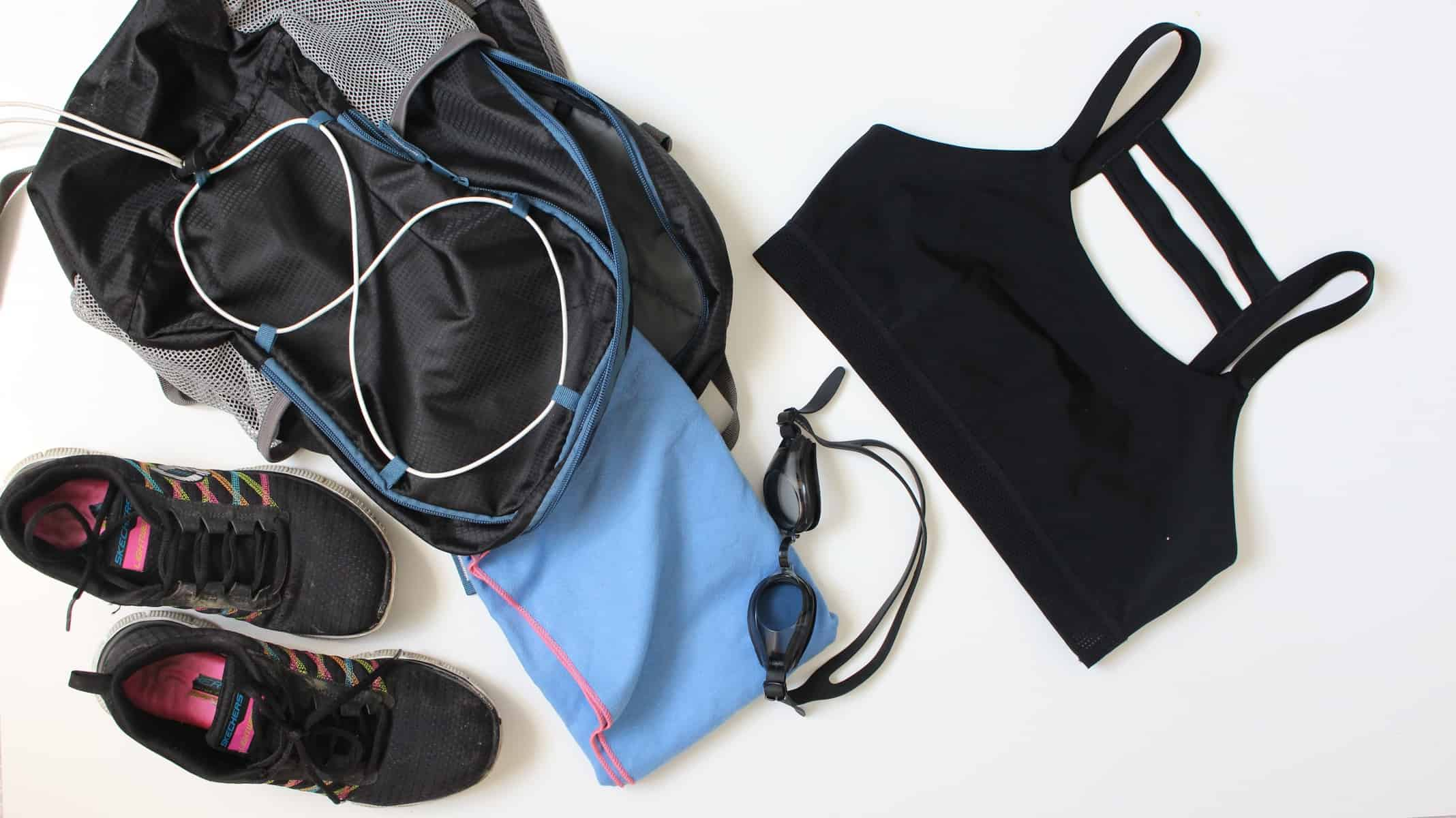 My Workout essentials for running and swimming
