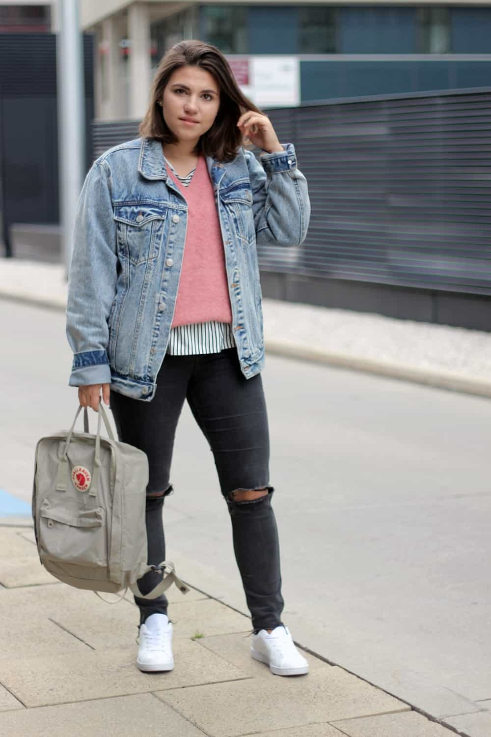 Outfit: Back to school - denim, cosy, autumn