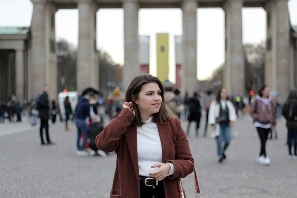 Wanderlust Tourist in Berlin