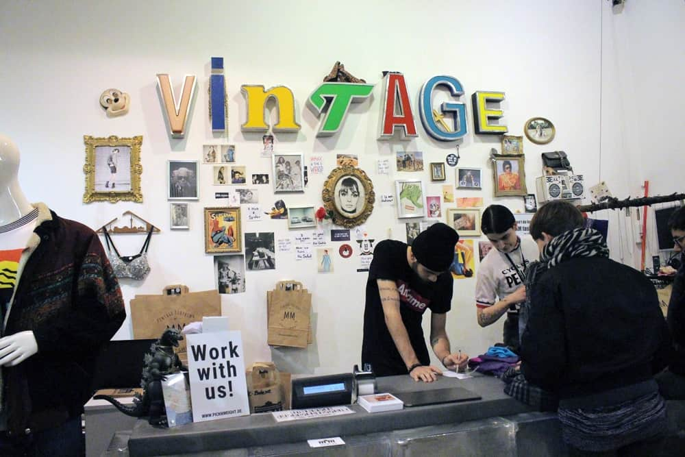 Vintage Shopping in Made in Berlin Vintage Store