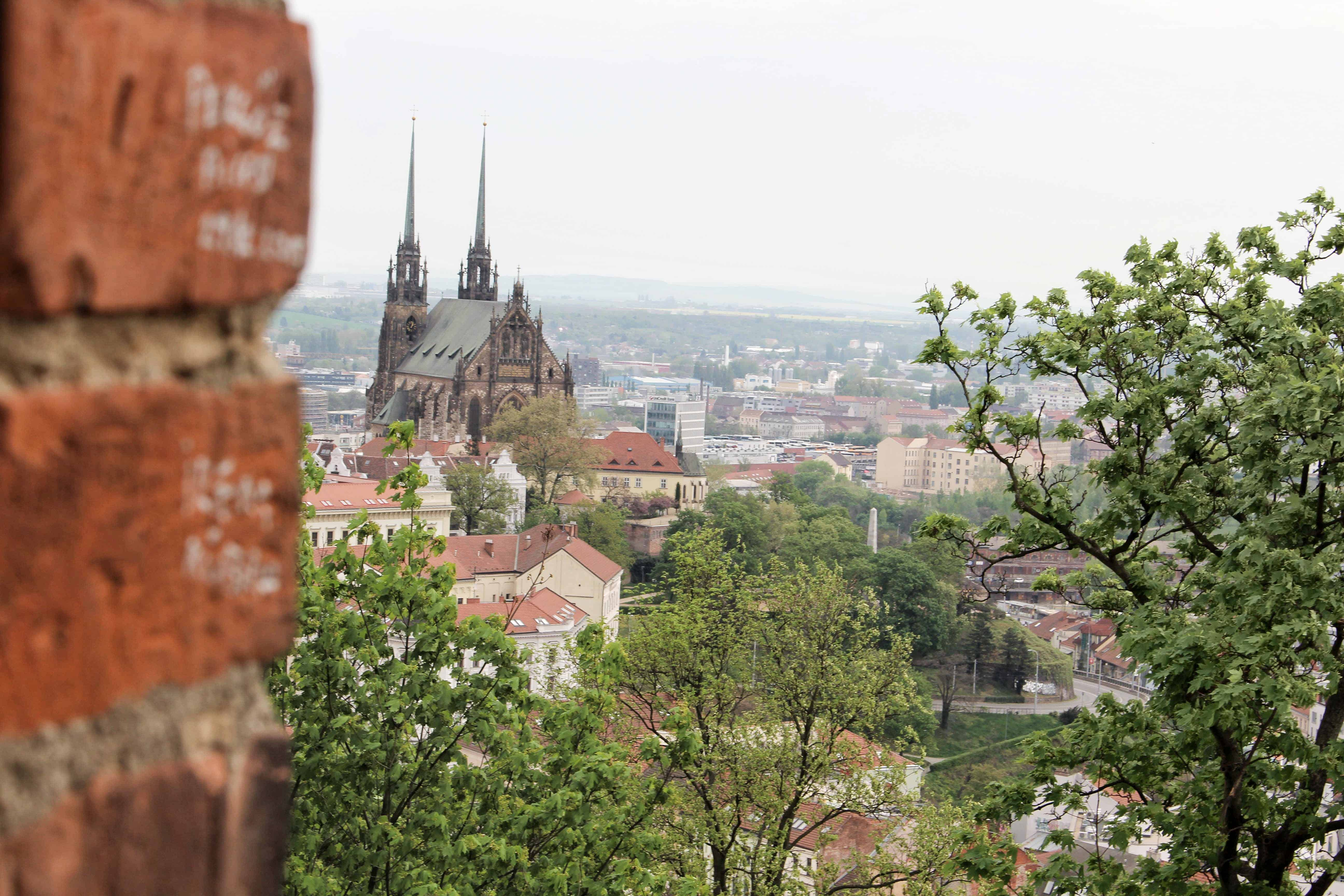 ifeandcolours austrianblogger travel: citytrip Brünn - birthday in Brno - view from Spielberg