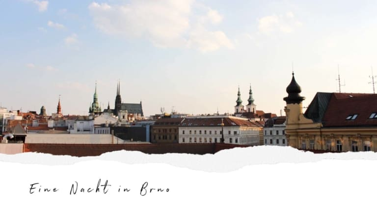 lifeandcolours austrianblogger travel: citytrip Brünn - birthday in Brno - eine Nacht in Brno - Youtubevideo